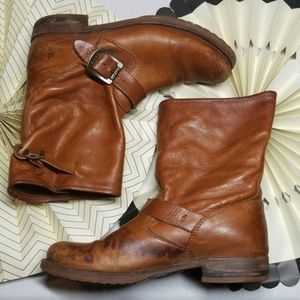 Frye Boots with Buckles size 8